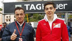 Jean Alesi und Giuliano Alesi