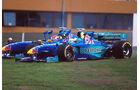 Jean Alesi & Johnny Herbert - Sauber Petronas C17 - GP Argentinien 1998