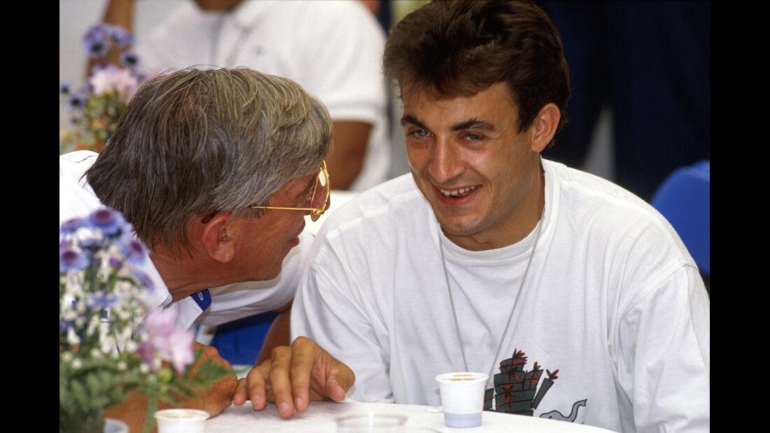 Jean Alesi Ken Tyrrell
