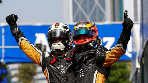 Jean-Eric Vergne - Andre Lotterer - Techeetah - Formel E - eprix - Santiago de Chile - Chile 2018