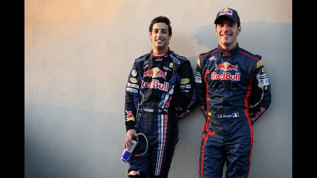 Jean Eric Vergne Daniel Ricciardo