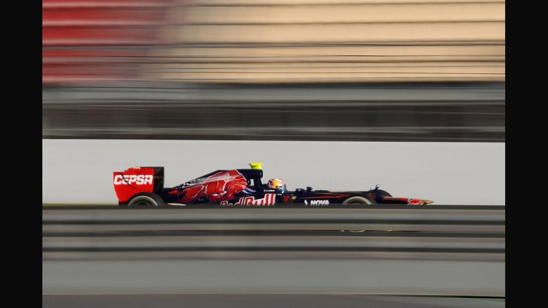 Jean-Eric Vergne - F1-Test - Barcelona 2012