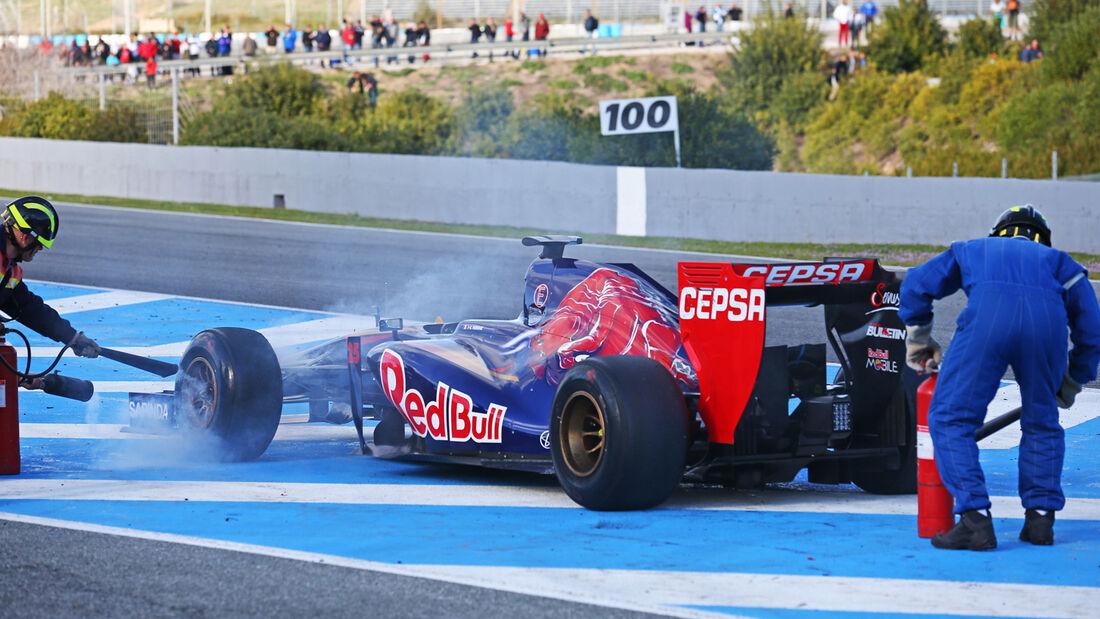 Jean-Eric Vergne - F1-Test Jerez 2014
