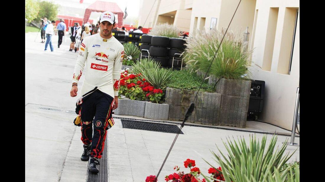 Jean Eric Vergne - Formel 1 - GP Bahrain - 21. April 2012