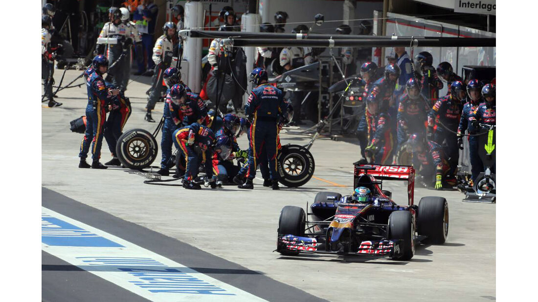 Jean-Eric Vergne - Formel 1 - GP Brasilien - 9. November 2014