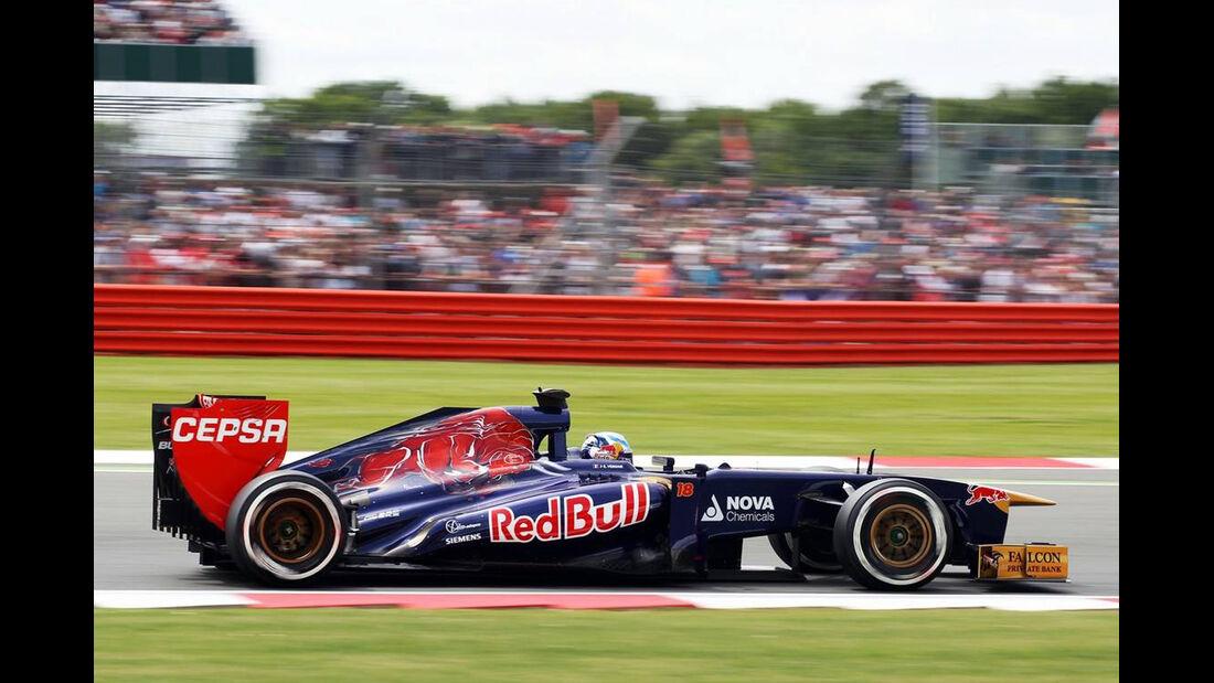 Jean Eric Vergne - Formel 1 - GP England - 29. Juni 2013