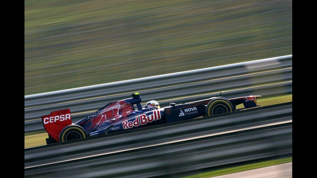 Jean Eric Vergne - Formel 1 - GP Indien - 27. Oktober 2012
