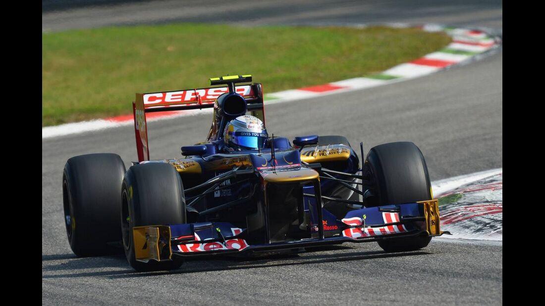 Jean Eric Vergne - Formel 1 - GP Italien - 08. September 2012