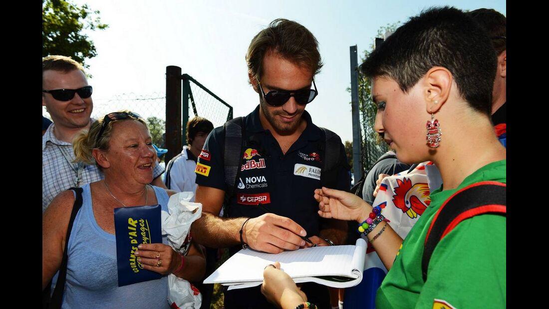 Jean Eric Vergne - Formel 1 - GP Italien - 6. September 2012