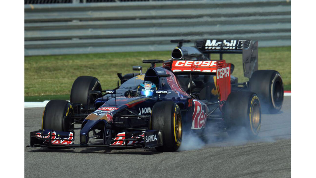 Jean-Eric Vergne - Formel 1 - GP USA - 2. November 2014