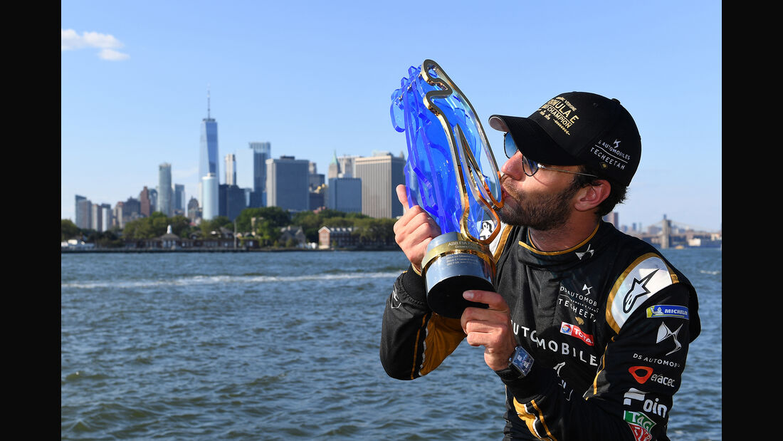 Jean-Eric Vergne - Formel E - New York - 2019