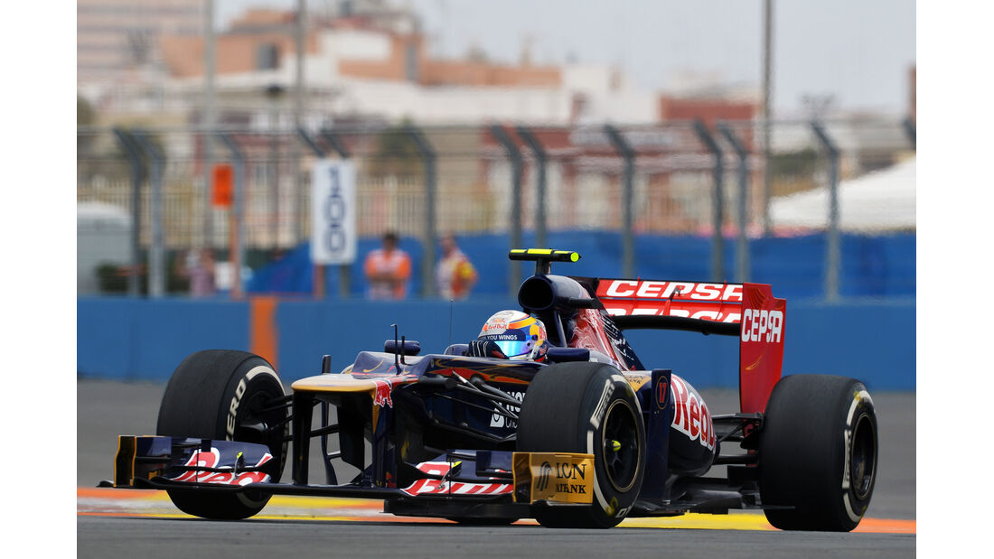 Jean-Eric Vergne GP Europa 2012