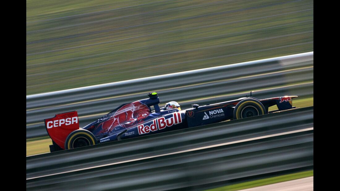 Jean-Eric Vergne GP Indien 2012