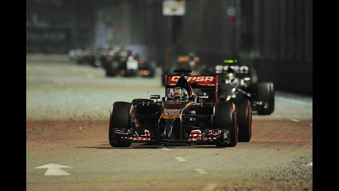 Jean-Eric Vergne - GP Singapur 2014