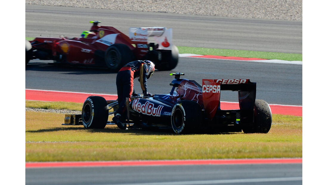 Jean Eric Vergne GP USA 2012