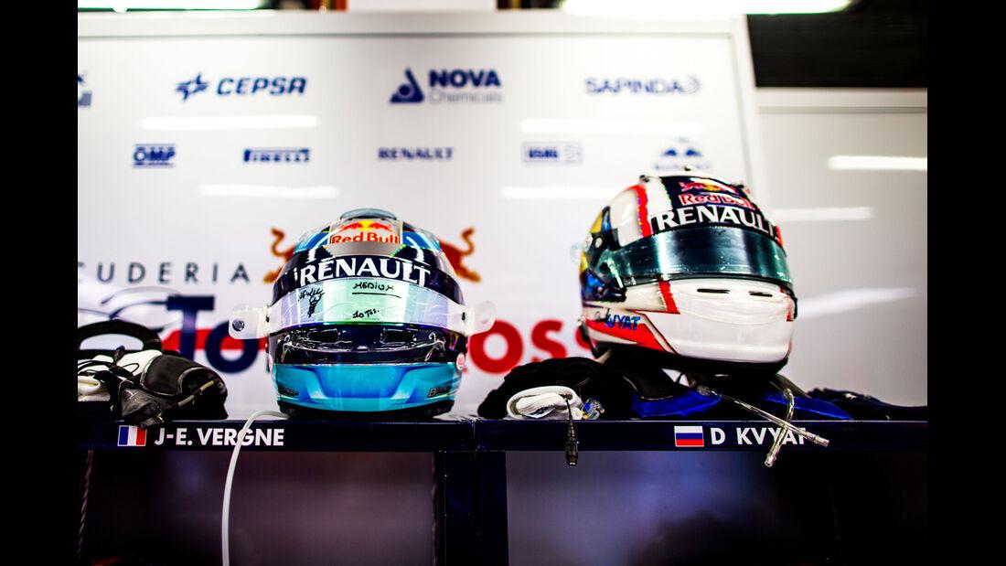 Jean-Eric Vergne - Helm - GP Singapur 2014