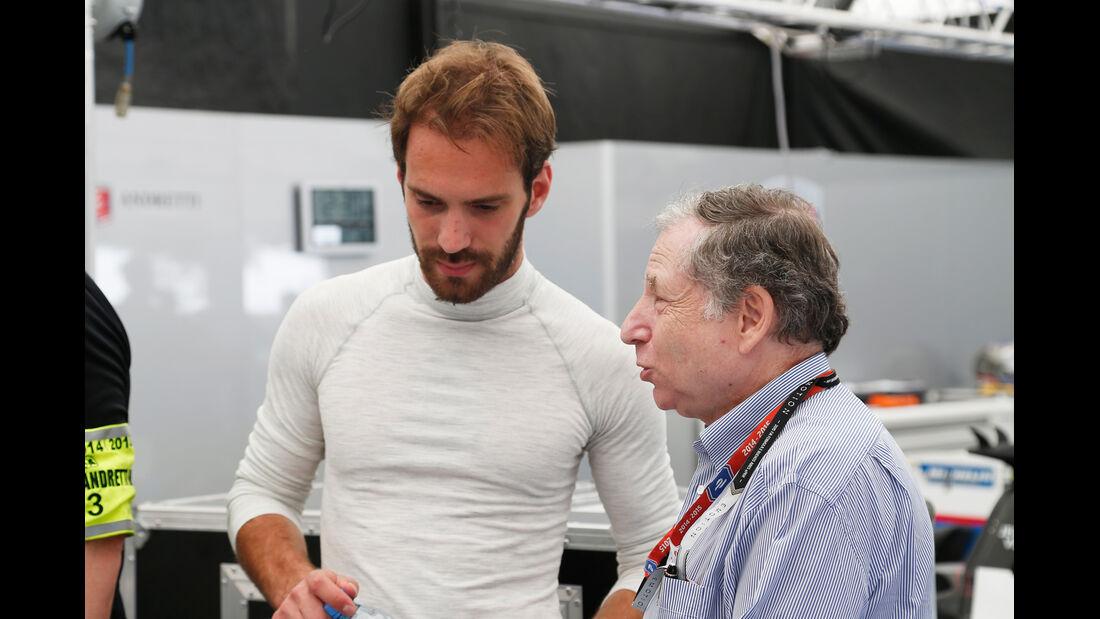Jean-Eric Vergne & Jean Todt - Formel E - Buenos Aires - Argentinien - 2015