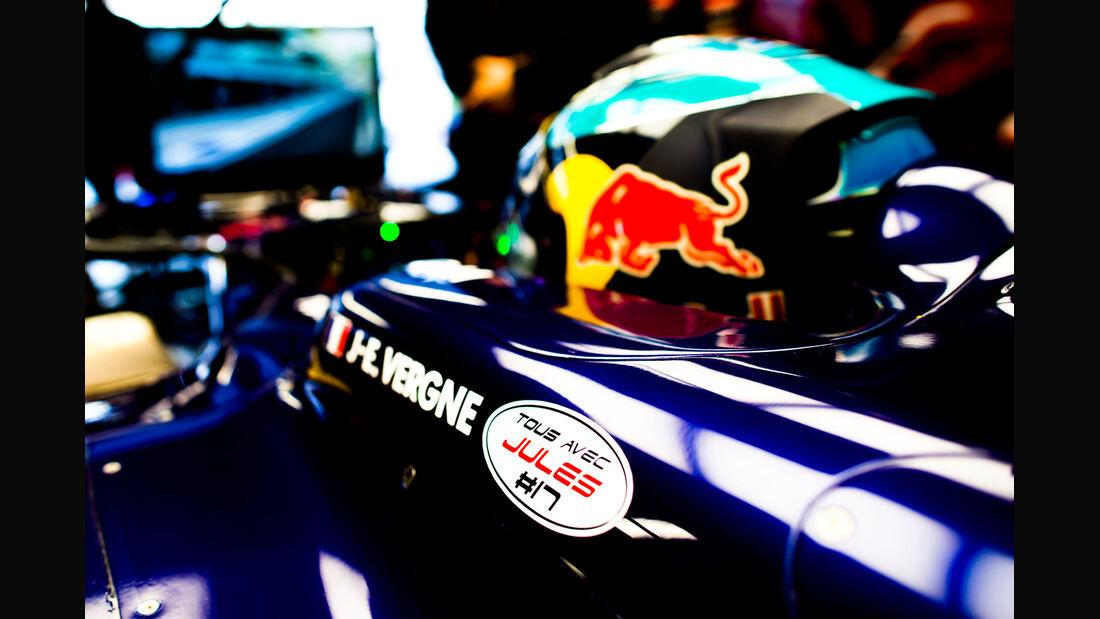 Jean-Eric Vergne - Jules Bianchi-Tribute - GP Russland 2014