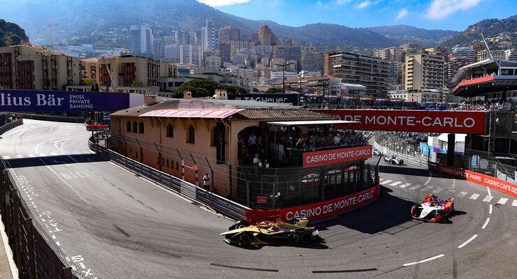 Jean-Eric Vergne - Pascal Wehrlein - Formel E - Monaco 2019