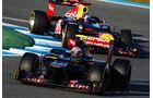 Jean-Eric Vergne - Toro Rosso - F1-Test Jerez 2012