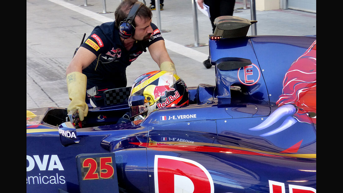 Jean-Eric Vergne - Toro Rosso - Formel 1 - Bahrain - Test - 2. März 2014