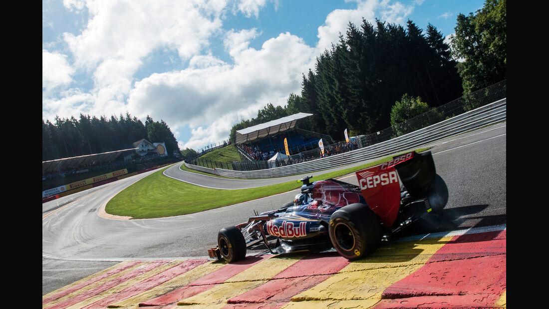 Jean-Eric Vergne - Toro Rosso - Formel 1 - GP Belgien - Spa-Francorchamps - 1. September 2012