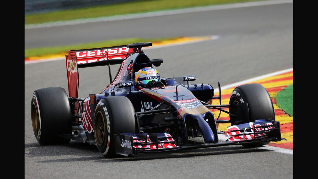 Jean-Eric Vergne - Toro Rosso - Formel 1 - GP Belgien - Spa-Francorchamps - 22. August 2014