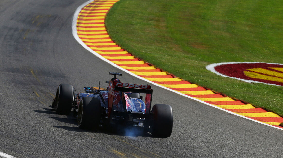 Jean-Eric Vergne - Toro Rosso - Formel 1 - GP Belgien - Spa-Francorchamps - 23. August 2013