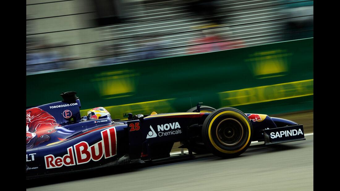 Jean-Eric Vergne - Toro Rosso - Formel 1 - GP China - Shanghai - 18. April 2014