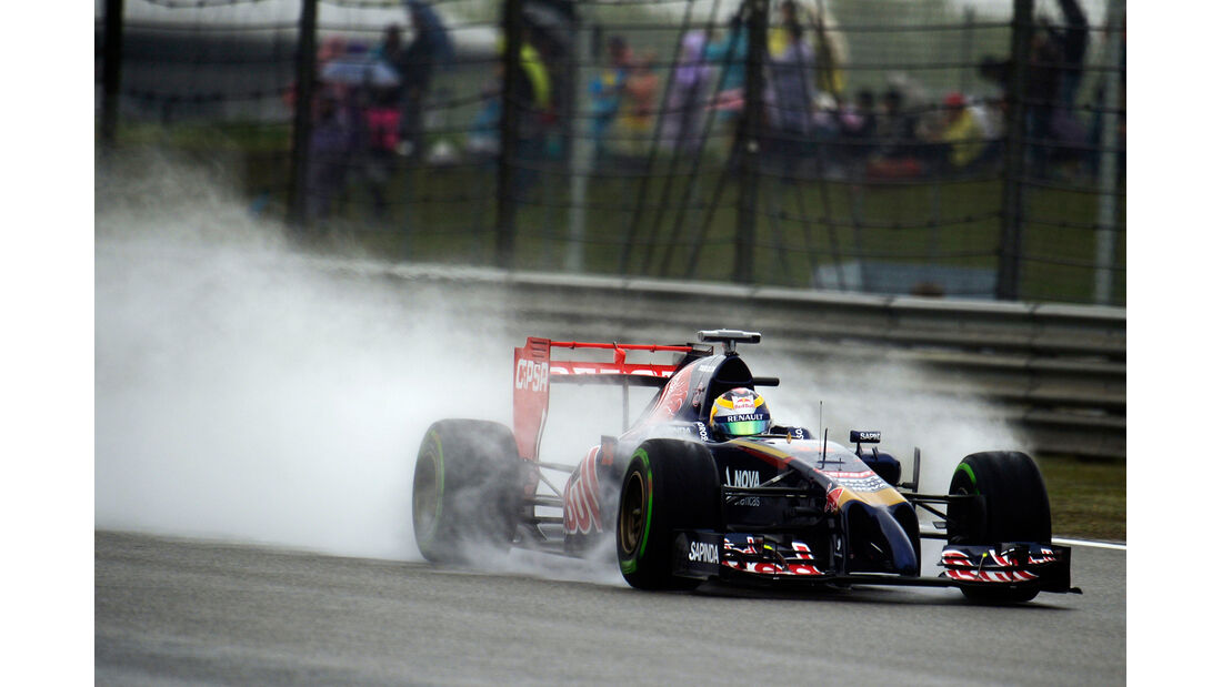 Jean-Eric Vergne - Toro Rosso - Formel 1 - GP China - Shanghai - 19. April 2014
