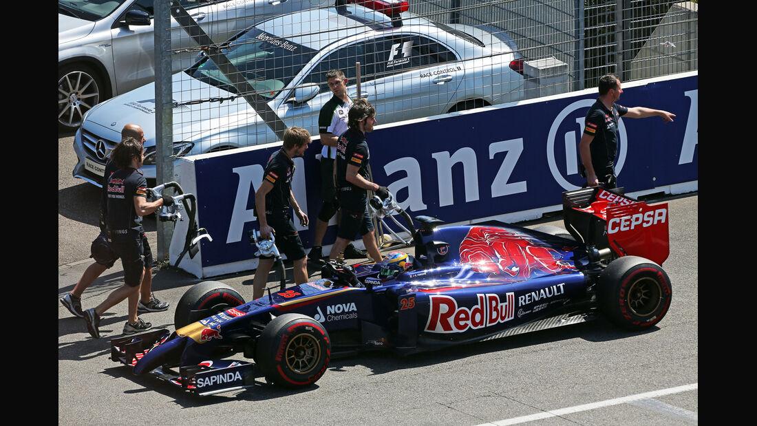 Jean-Eric Vergne - Toro Rosso - Formel 1 - GP Deutschland - Hockenheim - 19. Juli 2014