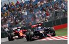 Jean-Eric Vergne - Toro Rosso - Formel 1 - GP England - Silverstone - 4. Juli 2014