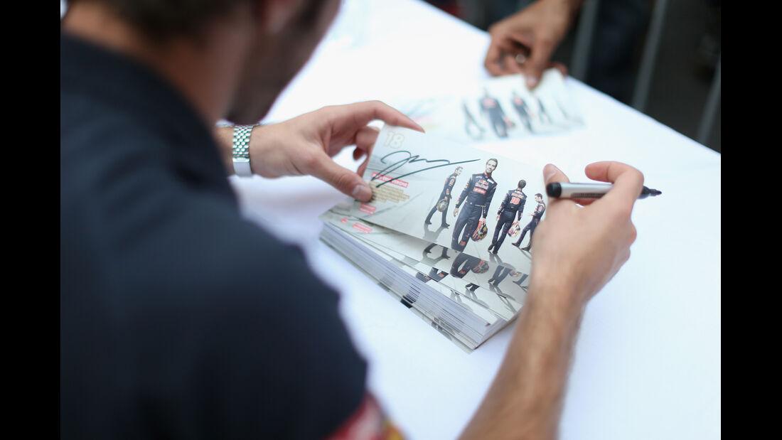 Jean-Eric Vergne - Toro Rosso - Formel 1 - GP Indien - Delhi - 24. Oktober 2013