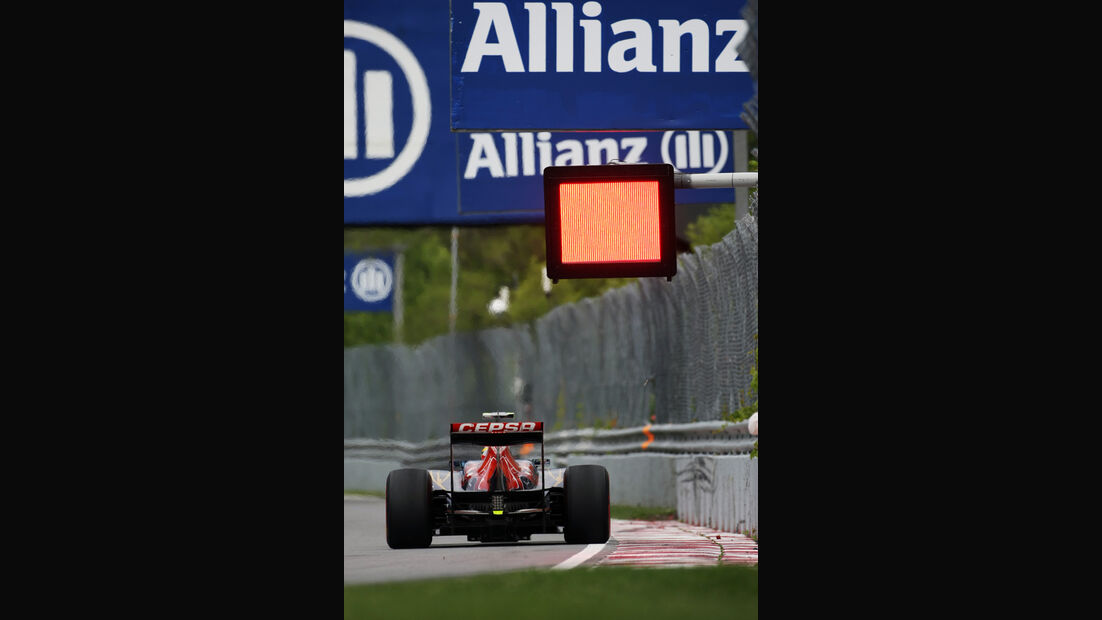 Jean-Eric Vergne - Toro Rosso - Formel 1 - GP Kanada - 8. Juni 2012