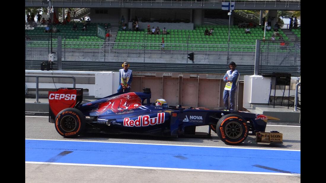 Jean-Eric Vergne - Toro Rosso - Formel 1 - GP Malaysia - 22. März 2013