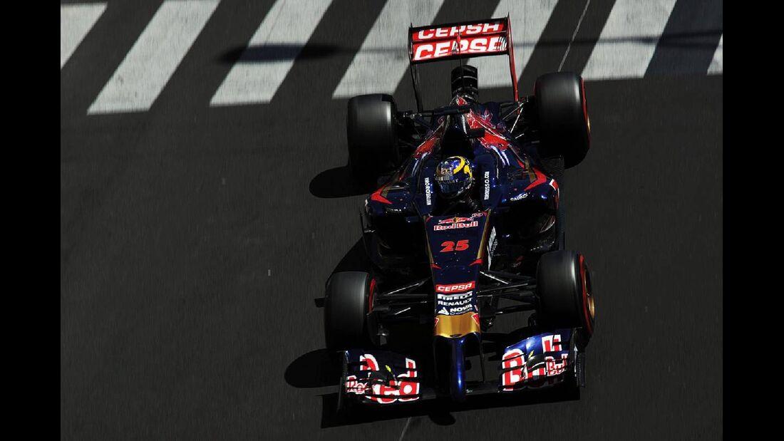 Jean-Eric Vergne - Toro Rosso  - Formel 1 - GP Monaco - 24. Mai 2014