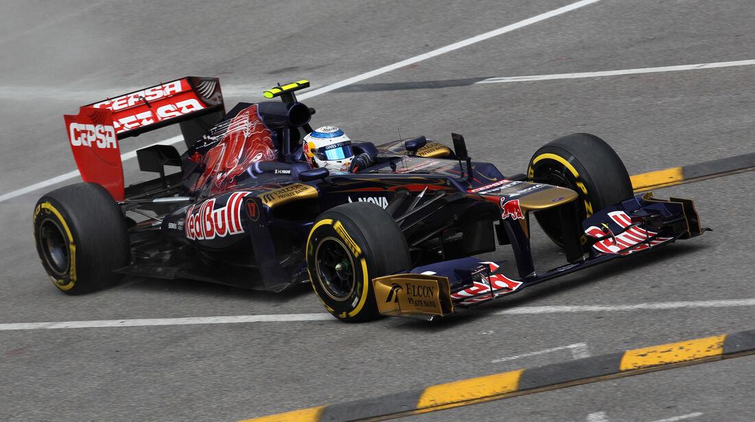 Jean-Eric Vergne - Toro Rosso - Formel 1 - GP Monado - 24.Mai