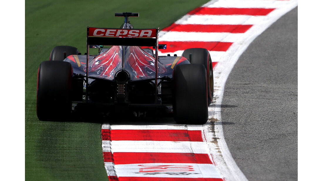 Jean-Eric Vergne - Toro Rosso - Formel 1 - GP Österreich - Spielberg - 21. Juni 2014