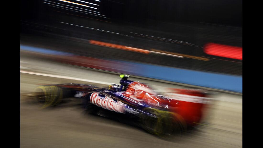 Jean-Eric Vergne - Toro Rosso - Formel 1 - GP Singapur - 21. September 2012