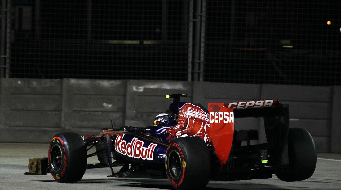 Jean-Eric Vergne - Toro Rosso - Formel 1 - GP Singapur - 22. September 2012
