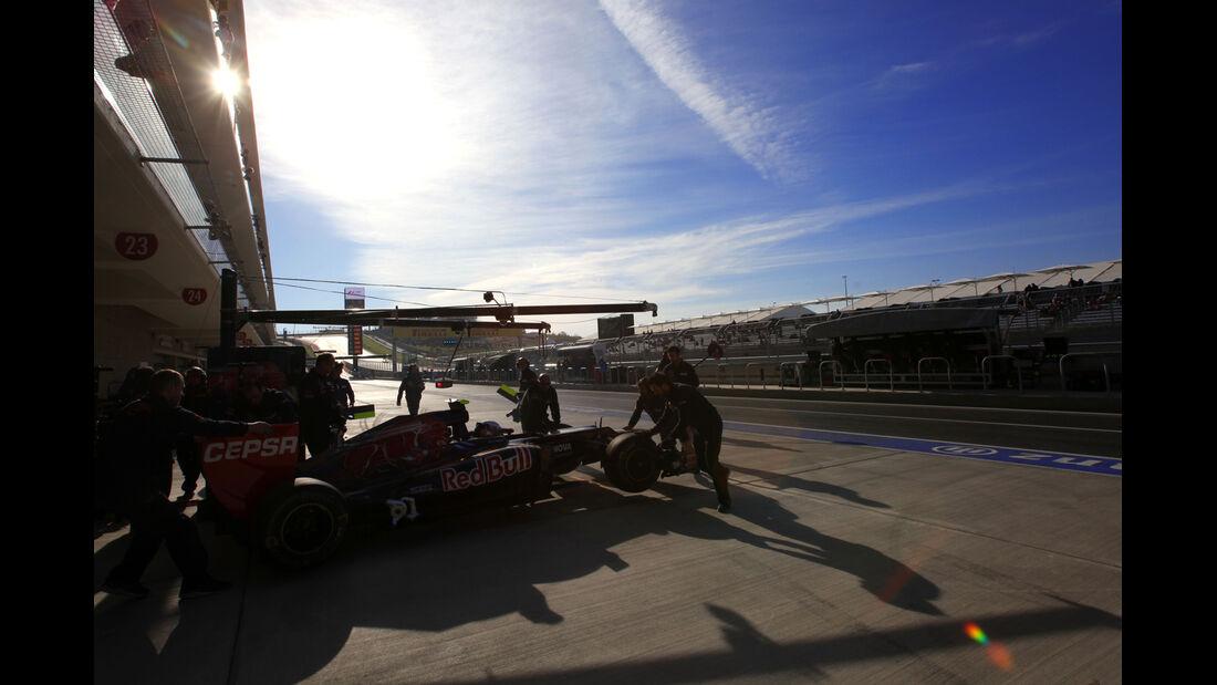 Jean-Eric Vergne - Toro Rosso - Formel 1 - GP USA - Austin - 17. November 2012