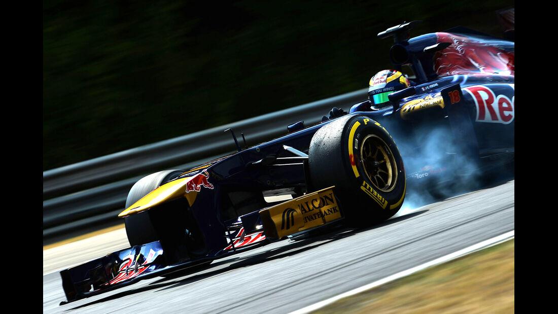 Jean-Eric Vergne - Toro Rosso - Formel 1 - GP Ungarn 2013