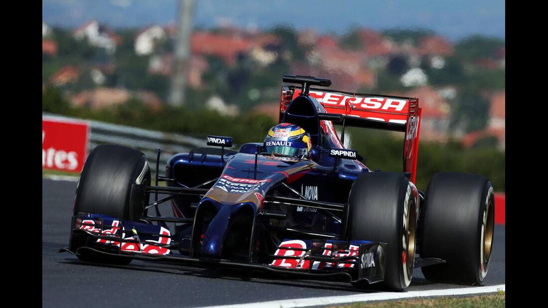Jean-Eric Vergne - Toro Rosso - Formel 1 - GP Ungarn - 25. Juli 2014