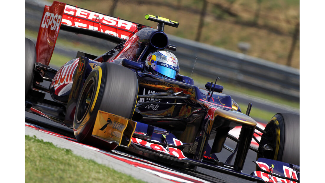 Jean-Eric Vergne - Toro Rosso - Formel 1 - GP Ungarn - Budapest - 28. Juli 2012