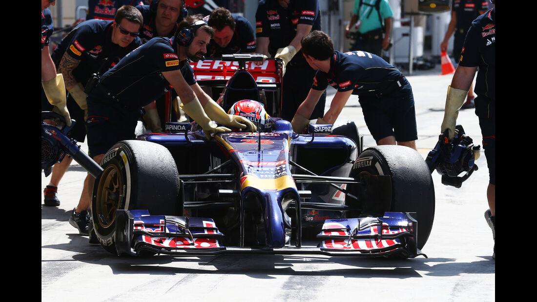 Jean-Eric Vergne - Toro Rosso - Formel 1 - Test - Bahrain - 1. März 2014