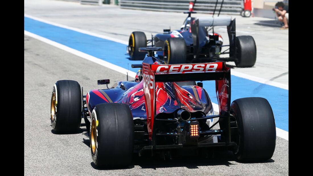 Jean Eric Vergne - Toro Rosso - Formel 1 - Test - Bahrain - 2. März 2014