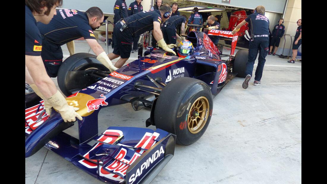 Jean-Eric Vergne - Toro Rosso - Formel 1 - Test - Bahrain - 20. Februar 2014