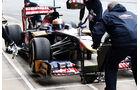 Jean Eric Vergne, Toro Rosso, Formel 1-Test, Barcelona, 21. Februar 2013