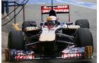 Jean Eric Vergne, Toro Rosso, Formel 1-Test, Barcelona, 22. Februar 2013