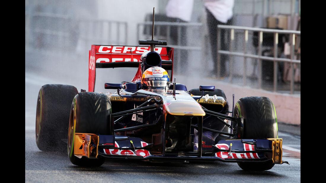 Jean-Eric Vergne, Toro Rosso, Formel 1-Test, Barcelona, 28. Februar 2013
